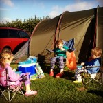 On Camping and Crabbing in Devon