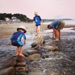 On beach days in Pembrokeshire